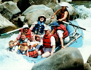 Raft Trip On Animas River